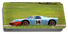 Gulf Mirage Ford Gt40 Portable Battery Charger