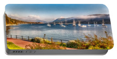 Gulf Of  Ullapool      Portable Battery Charger by Sergey Simanovsky
