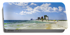Gulf Shores Al Beach Seascape 1746a Portable Battery Charger