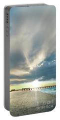 Gulf Shores Al Pier Seascape Sunrise 152a Portable Battery Charger