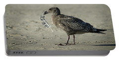 Gull And Feather Portable Battery Charger