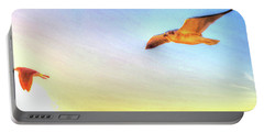 Gull In Sky Portable Battery Charger