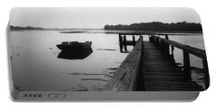 Gullah Coast Bateau Bw Portable Battery Charger