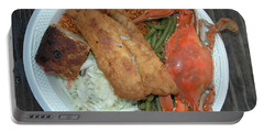 Gullah Plate Portable Battery Charger