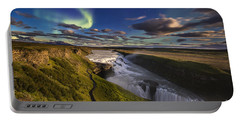 Gullfoss Iceland Portable Battery Charger
