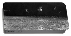 Gulls On The River Portable Battery Charger