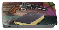 Gun And Bibles Portable Battery Charger