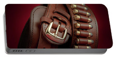 Portable Battery Charger featuring the photograph Gunbelt Bandolier by Tom Mc Nemar