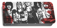 Guns N Roses Graffiti Tribute Portable Battery Charger