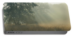 Portable Battery Charger featuring the photograph Guten Morgen by Heidi Poulin