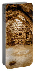 Portable Battery Charger featuring the photograph Guzelyurt, Turkey - Underground House II by Mark Forte