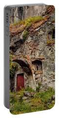 Portable Battery Charger featuring the photograph Guzelyurt, Turkey - Underground House IIi by Mark Forte