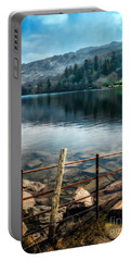 Portable Battery Charger featuring the photograph Gwynant Lake by Adrian Evans