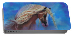 Gypsy In The Wind Portable Battery Charger by Karen Kennedy Chatham