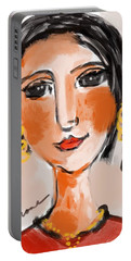 Gypsy Lady Portable Battery Charger by Elaine Lanoue