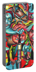 Gyrating Vigor Of Carnal Sustenance Portable Battery Charger