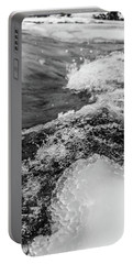 Portable Battery Charger featuring the photograph H2O by Alex Lapidus