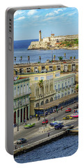 Portable Battery Charger featuring the photograph Habana Havana  by Steven Sparks