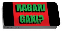 Habari Gani Portable Battery Charger