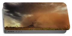 Portable Battery Charger featuring the photograph Haboob Is Coming by Rick Furmanek
