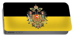 Habsburg Flag With Imperial Coat Of Arms 1 Greetings Portable Battery Charger
