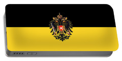 Habsburg Flag With Imperial Coat Of Arms 3 Portable Battery Charger