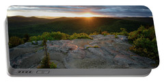 Hadley Mountain Sunset Portable Battery Charger