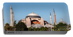 Hagia Sophia Blue Sky 03 Portable Battery Charger