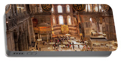 Hagia Sophia Interior 09 Portable Battery Charger