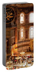 Hagia Sophia Interior 10 Portable Battery Charger