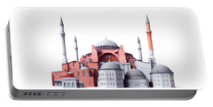 Hagia Sophia, Istanbul Portable Battery Charger