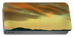 Portable Battery Charger featuring the photograph Hailing The Sky by John De Bord