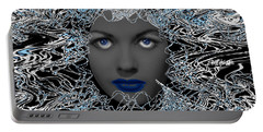 Hair Thair And Everywhair Nadia Portable Battery Charger by Seth Weaver