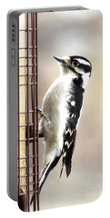 Hairy Woodpecker Portable Battery Charger