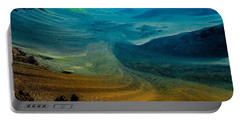 Portable Battery Charger featuring the photograph Haleakala by M G Whittingham