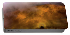 Portable Battery Charger featuring the photograph Haleakala Halo by M G Whittingham