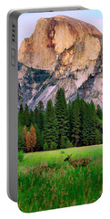 Half Dome And Deer Portable Battery Charger