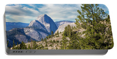 Half Dome And Olmstead Point Portable Battery Charger