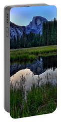 Half Dome At Sunrise Portable Battery Charger