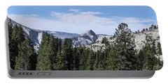 Half Dome From Olmstead Point Yosemite Valley Yosemite National Park Portable Battery Charger