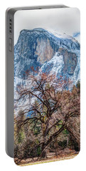 Half Dome Meadow Tree Winter Portable Battery Charger