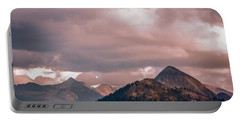 Half Dome Moods  Portable Battery Charger by Chuck Kuhn