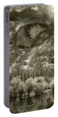 Half Dome Over Mirror Lake Portable Battery Charger