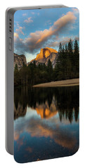 Half Dome Sunset Glow Portable Battery Charger