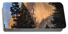 Half Dome Sunset Portable Battery Charger