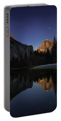 Half Dome, Twilight Portable Battery Charger