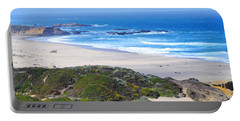 Half Moon Bay Portable Battery Charger by Holly Blunkall
