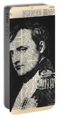 halftone Napoleon  Portable Battery Charger