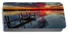 Halifax River Sunset Portable Battery Charger