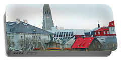 Hallgrimskirkja From Harpa 6219 Portable Battery Charger